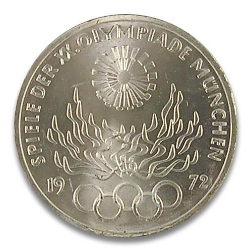 10 DM Olympisches Feuer 1972