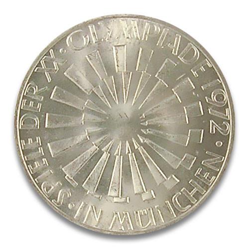 10 DM Strahlenspirale München 1972