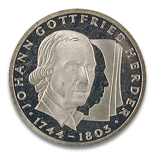 10 DM 250. Geburtstag Johann Gottfried Herder 1994