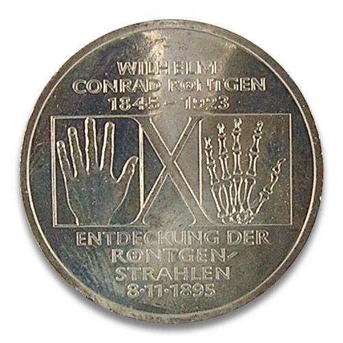 10 DM 150. Geburtstag Röntgen 1995