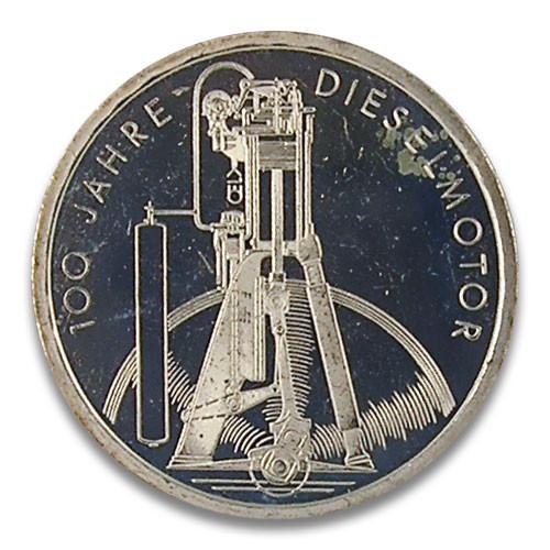 10 DM 100 Jahre Dieselmotor 1997