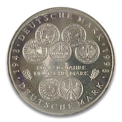 10 DM 50 Jahre Deutsche Mark 1998