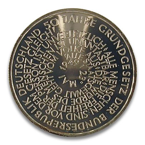 10 DM 50 Jahre Grundgesetz der BRD 1999