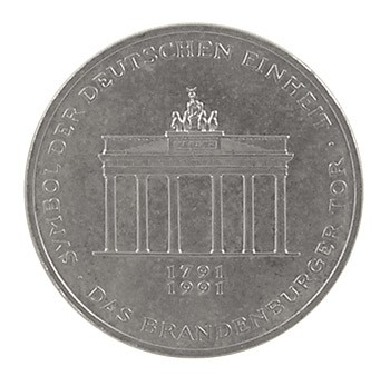 10 DM Brandenburger Tor 1991
