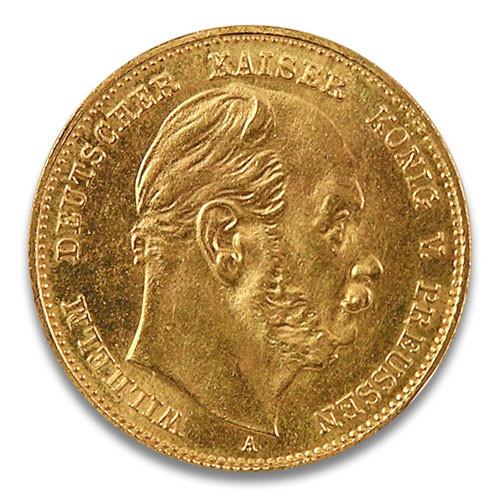 10 Mark Wilhelm I von Preussen