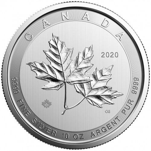 Magnificent Maple Leaf Silber 10 oz 2020