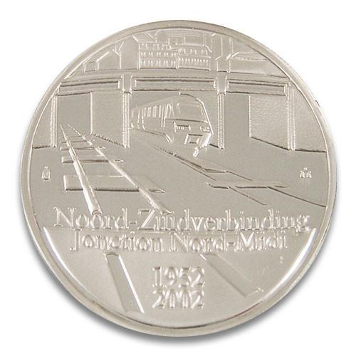 10 Euro Belgien Noord-Zuid Verbinding Bruessel 2002