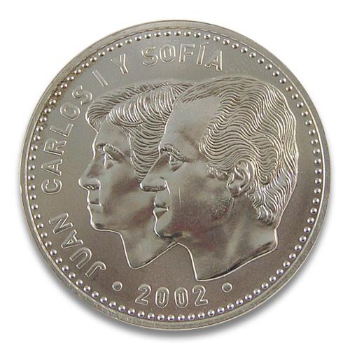 12 Euro Spanien Juan Carlos I Y Sofia 2002