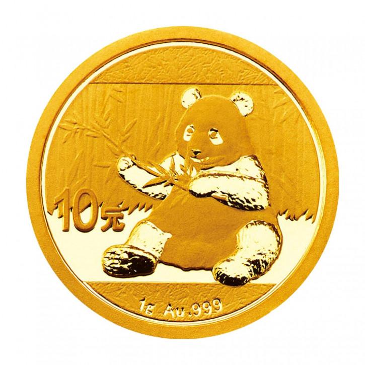 China Panda Gold 1 g 2017