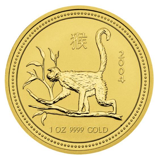 Lunar I Affe 2004 Gold 1 oz