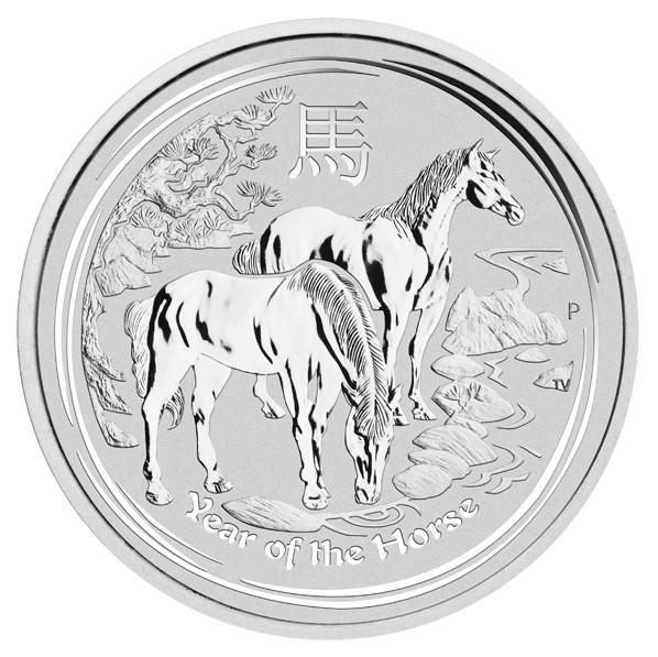 Lunar II Pferd 2014 Silber 10 kg