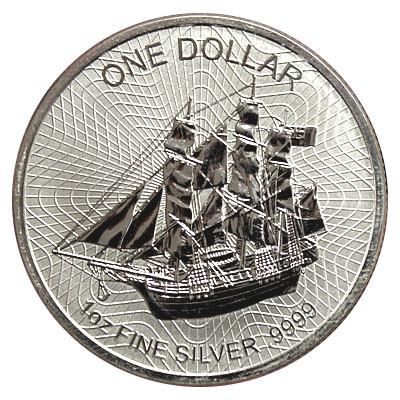 Cook Island Silber 1 oz 2016