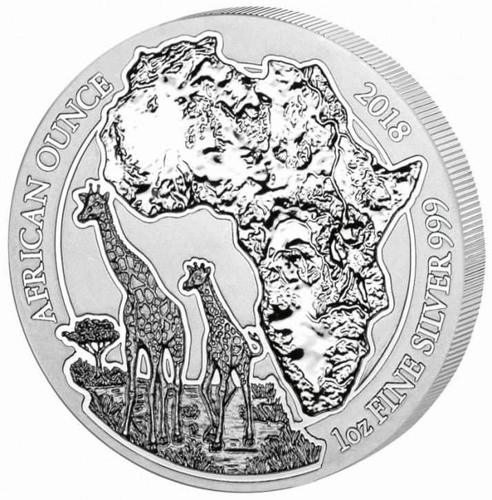 Ruanda Giraffe 2018