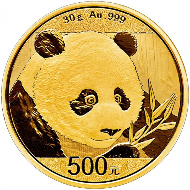 China Panda Gold 30 g 2018