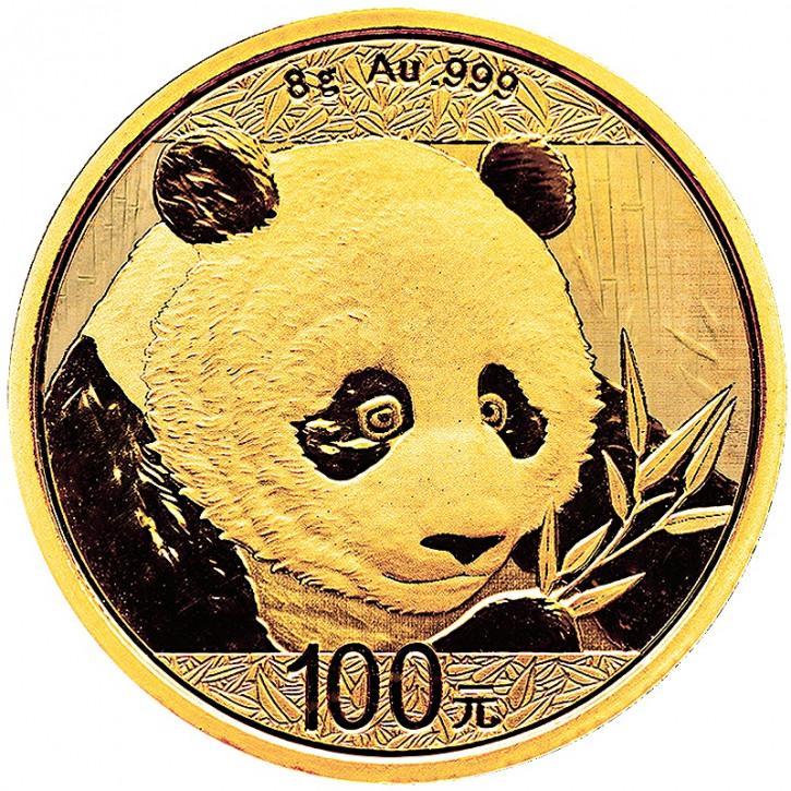 China Panda Gold 8 g 2018