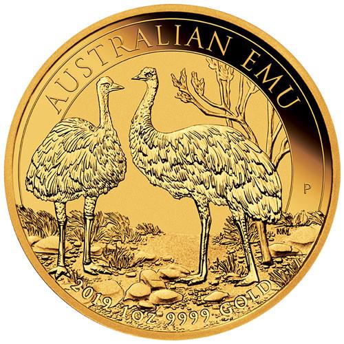 Australien Emu 2019 Gold 1 oz