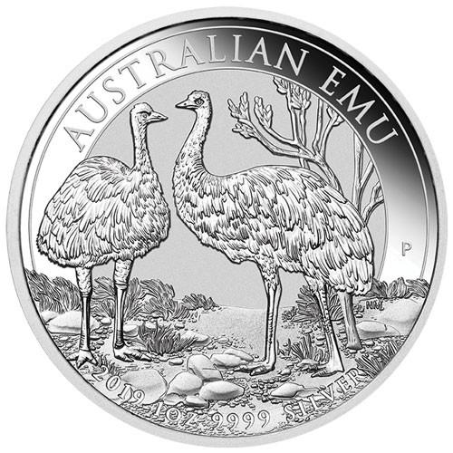 Emu Australien 2019 Silber 1 oz