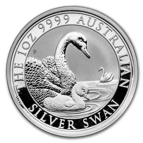 Schwan Australien 2019 Silber 1 oz PP