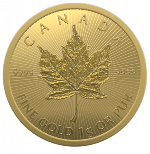 Maple Leaf Gold 1 g 2021