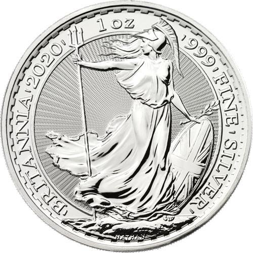 Britannia Silber 1 oz 2020