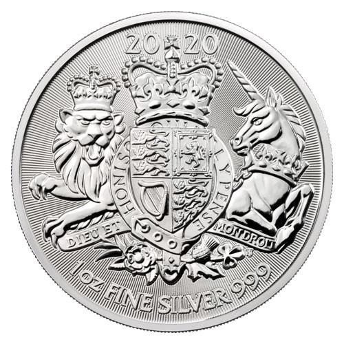 Royal Arms Silber 1 oz 2020