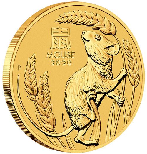 Lunar III Maus 2020 Gold 1/2 oz