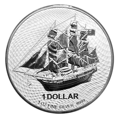 Cook Island Silber 1 oz 2021