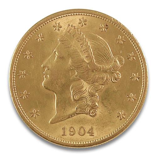 20 USD Double Eagle Liberty Kopf