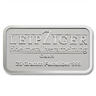 Silberbarren LEV 20 g