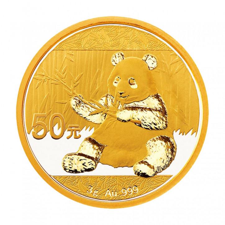 China Panda Gold 3 g 2017