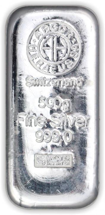 Silberbarren Argor-Heraeus 500 g