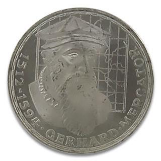 5 DM Gerhard Mercator 1970