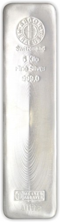 Silberbarren Argor-Heraeus 5 kg