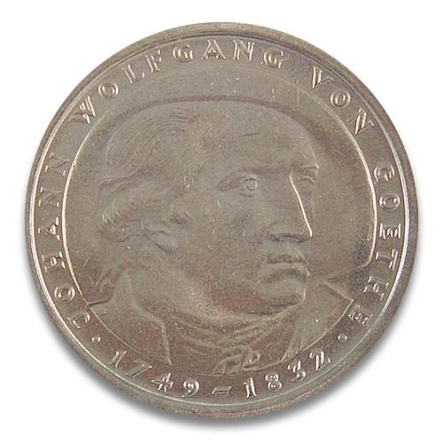 5 DM 150. Todestag Johann Wolfgang von Goethe 1982