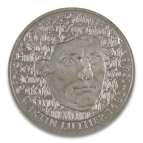 5 DM 500. Geburtstag Martin Luther 1983