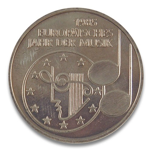 5 DM Europäisches Jahr der Musik 1985