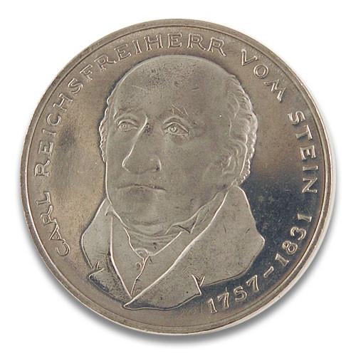 5 DM Carl Reichsfreiherr vom und zum Stein 1981