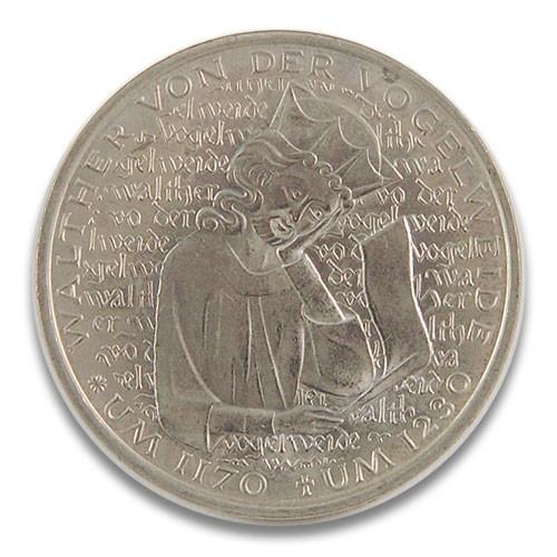 5 DM 750. Todestag Walther von der Vogelweide 1980