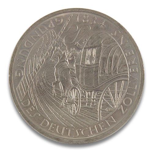 5 DM 150. Gründungstag Deutscher Zollverein 1984