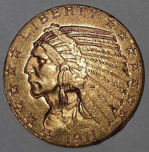 Liberty 5 USD / Indianer
