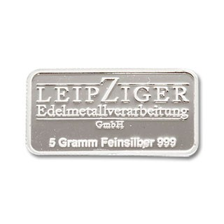 Silberbarren LEV 5 g
