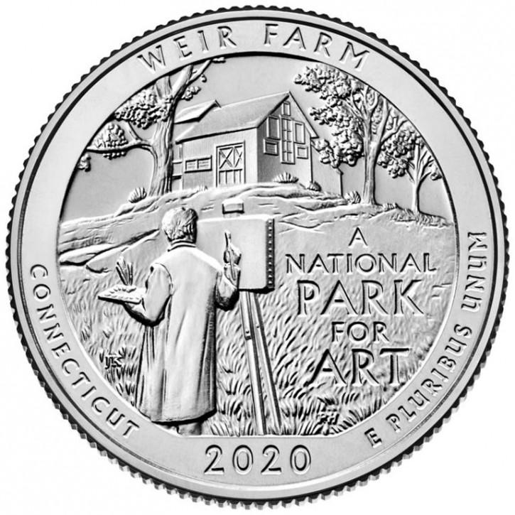America the Beautiful - Connecticut - Weir Farm 2020