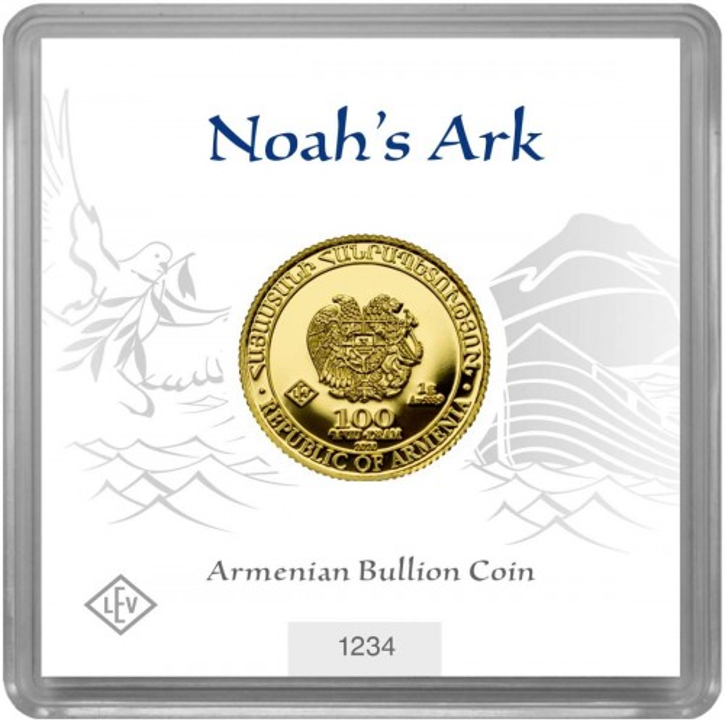 Arche Noah 1 g Gold verschiedene
