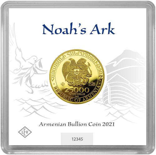 Arche Noah 1/2 oz Gold 2021