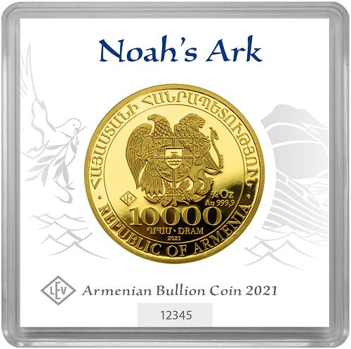 Arche Noah 1/4 oz Gold 2021