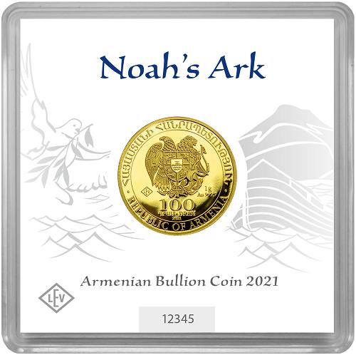 Arche Noah 1 g Gold 2021