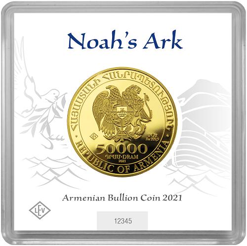 Arche Noah 1 oz Gold 2021