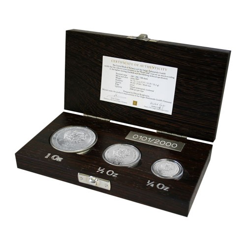 Arche Noah proof Set Silber 1 oz, 1/2 oz, 1/4 oz 2012