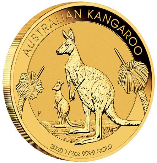 Känguru Australien 2020 Gold 1/2 oz