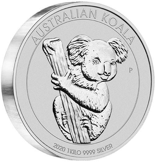 Koala 2020 Silber 1 kg